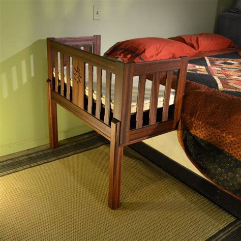 Sidecar Crib Platform Bed by 1000 Images About Cribs On Beds Infants And