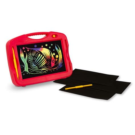 Portable Light Box by Scratch Portable Light Box Doodle Educational Toys