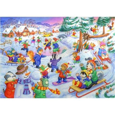 Puzzle Clementoni 3 X 48 3 Gambar Snow White in the snow kidz jigz 80 jigsaw puzzle from