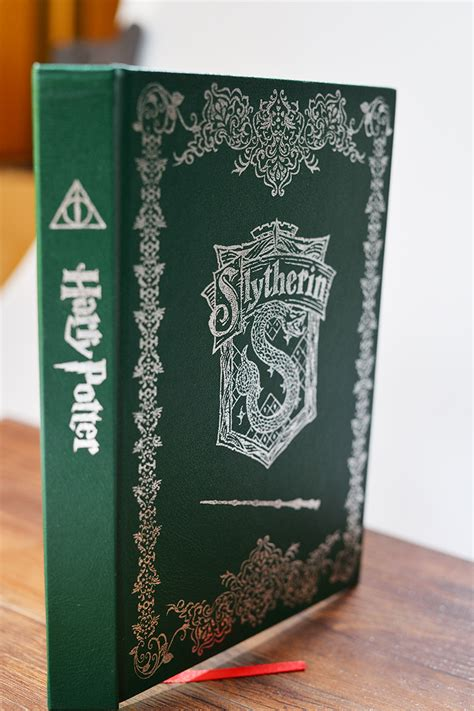 harry potter slytherin ruled notebook books animate vintage notebook harry potter slytherin cool