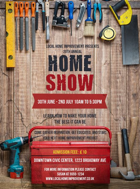Home Improvement Flyer Home Improvement Flyer Template
