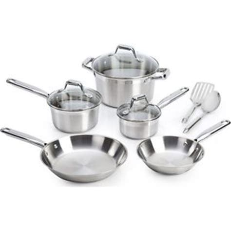 induction stove pots stainless steel 10 cookware set induction cooktop pots elegance sauce pan ebay