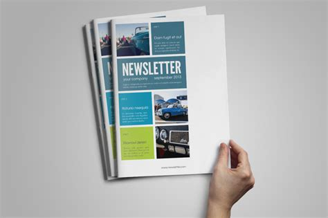 Free Indesign Newsletter Templates by Indesign Newsletter Template Magazine Templates On
