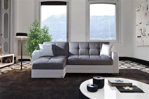 divani letto angolare divano letto angolare modelo quot kubo quot con penisola bianco e