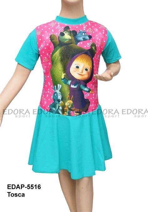 Baju Renang Diving Rok Tanggung baju renang diving rok karakter edap 5516 tosca distributor dan toko jual baju renang celana