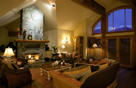 cozy livingroom 41 beautiful living rooms with fireplaces of all types