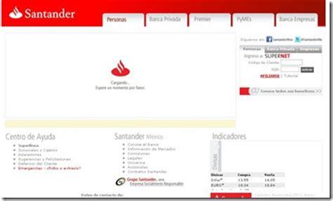 Santander.com.mx sucursales promociones y servicios   2014