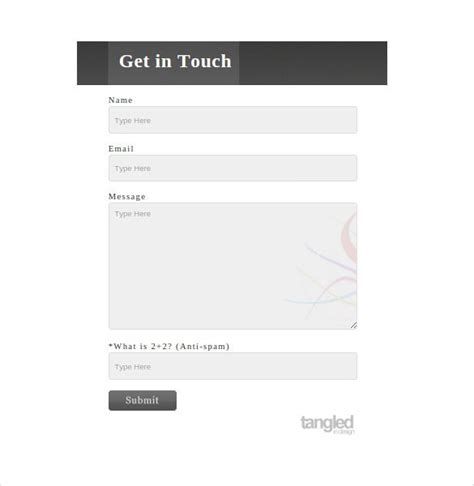 free php contact form template 35 best php contact form templates free premium templates