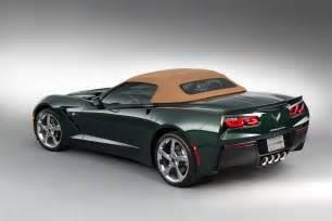 official 2014 chevrolet corvette stingray convertible