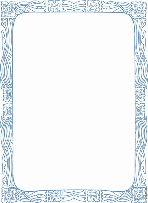 Decorative Borders by Decorative Nouveau Border