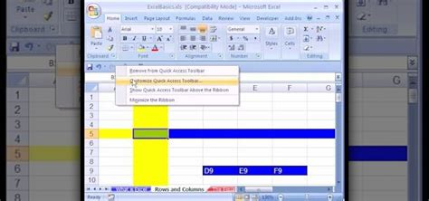 excel tutorial xlsm how to use microsoft excel 2007 as a complete beginner