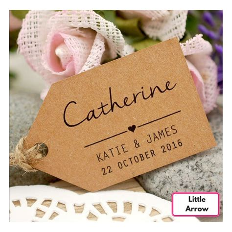 Wedding Favors Tags by Personalized Kraft Wedding Favor Tags Wedding Favors