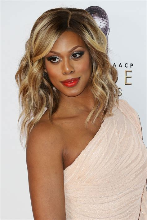 laverne cox laverne cox naacp image awards 2016 presented by tv one