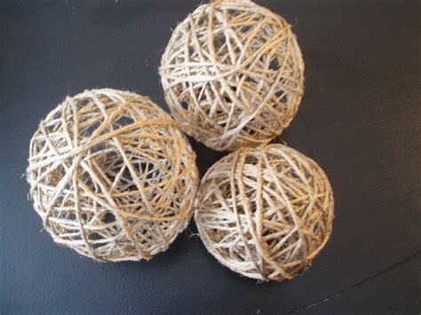 Decorative Twine by Make Your Own Decorative Twine Balls For Wedding Or Home