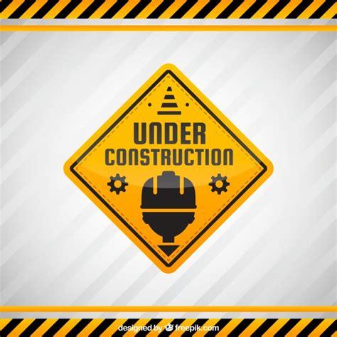 underconstruction template flat construction template vector free