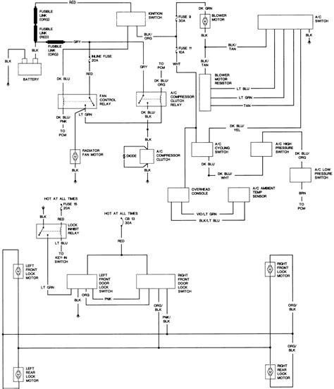 1994 chrysler lebaron radio wiring diagram