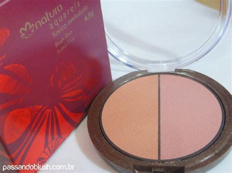 A Blush On Duo C 48gr testei blush duo natura aquarela 187 passando blush