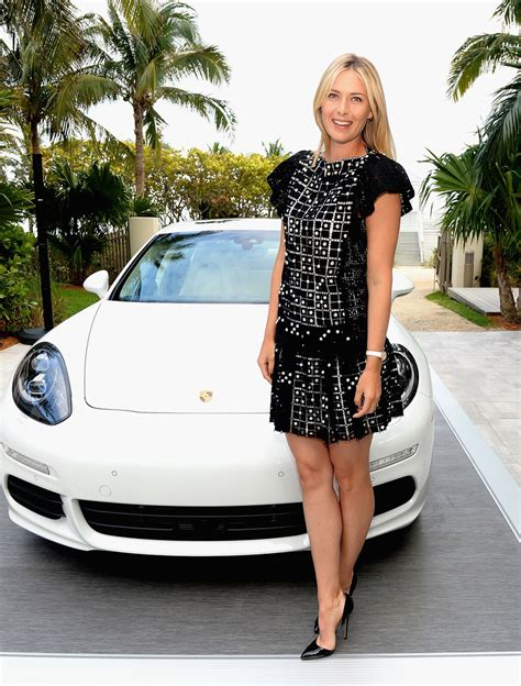Porsche Open Tennis by Fotos Sharapova Y Porsche Tenis Web