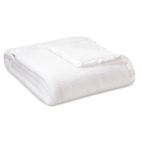 solid bed blanket full queen white simply shabby chic