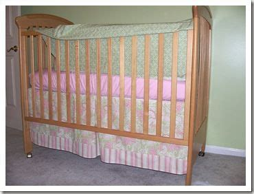 Crib Skirt Sewing Pattern by Box Pleat Crib Skirt Tutorial Sewing Projects