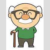 Cartoon grandfather clipart - ClipartFest