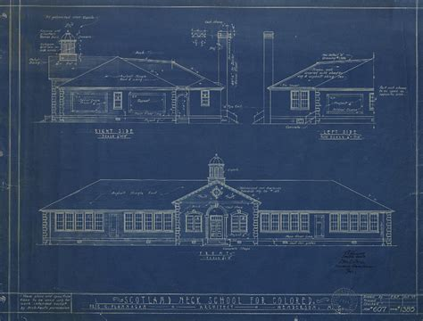 blueprint house school blueprint drawings