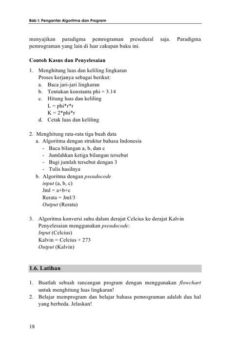 Teori Dan Implementasi Berorientasi Objek Menggunakan C Buku Kompute algoritma dan pemrograman teori dan praktik dalam pascal edisi kedua