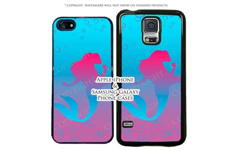 Casing Lg G6 Cat Pink Custom disney mermaid ariel pink and teal phone for