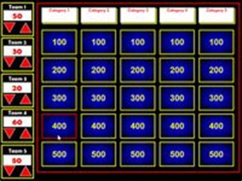 Jeopardy On Pinterest Smart Boards Computers And Classroom Jeopardy For Smartboard