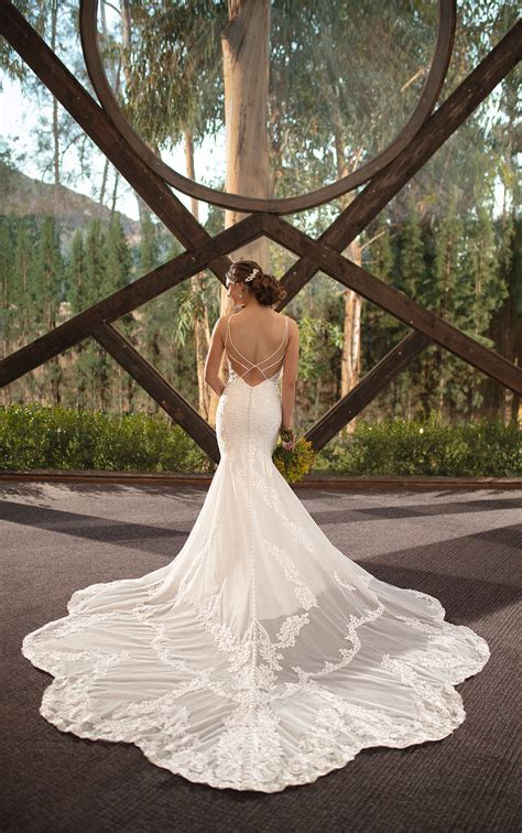 Simple Boho Wedding Dress Australia