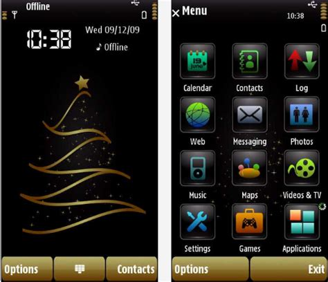 themes hd for nokia n8 nokia n8 themes technocage 10 latest and best christmas