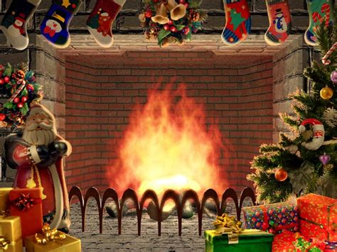christmas live themes for windows 7 christmas living 3d fireplace screensaver
