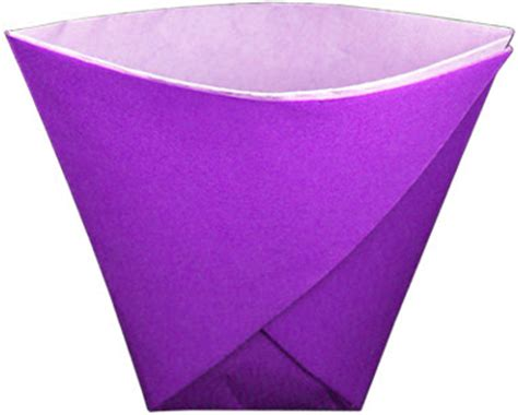 Origami Paper Cup - paper cup from a sheet of paper