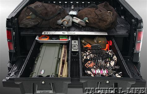 decked truck bed organizer decked truck bed storage system