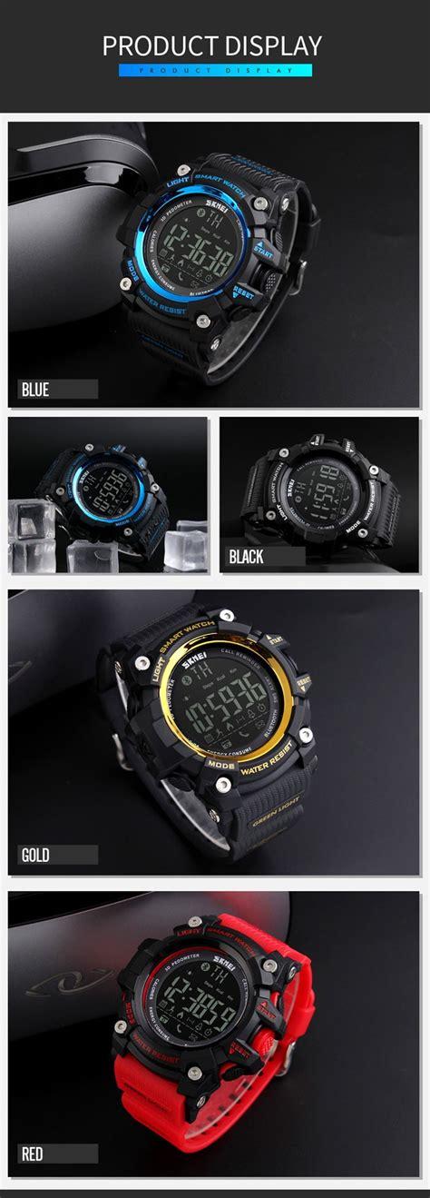 Promo Smart Skmei 1227 Bluetooth Pedometer Water Resist 50m skmei 1227 watches smart 2017 with bluetooth