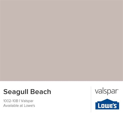 seagull from valspar color wheel