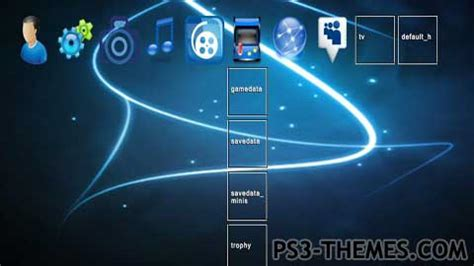 ps3 themes in store ps3 themes 187 blue 3