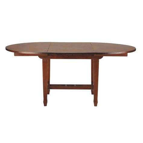 How To Stain Dining Table Solid Teak Extending Dining Table In Stain Finish W 120cm Colonies Maisons Du Monde