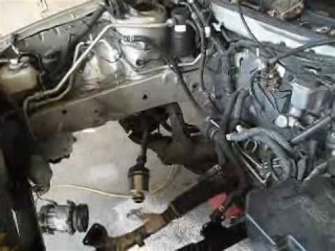 motor repair manual 1992 mazda 626 transmission control 2001 mazda 626 engine replacement job youtube