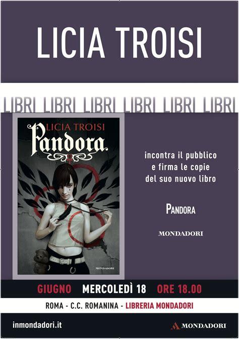 libreria mondadori romanina presentazioni licia troisi il sito ufficiale