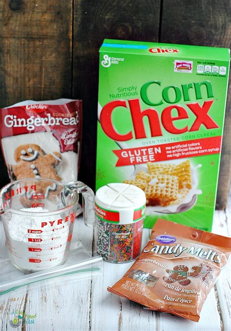 puppy chow snack mix gingerbread puppy chow snack mix