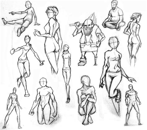 Drawing References Poses by Figures And Poses By Maddcap On Deviantart