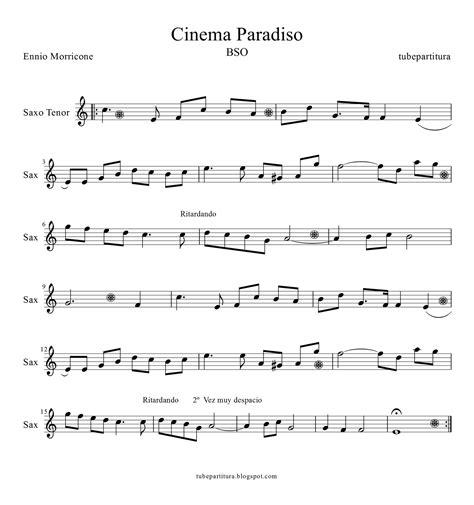 se filmer cinema paradiso gratis tubescore cinema paradiso sheet music for tenor saxophone