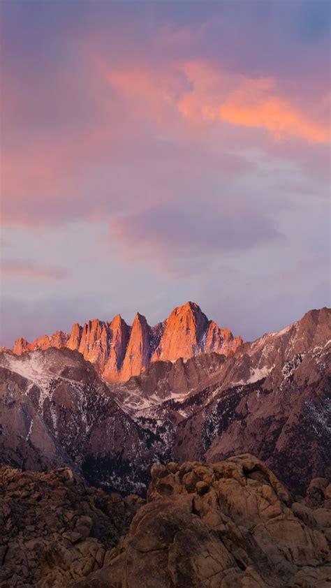 wallpaper for mac sierra wallpaper mountains macos 4k 5k sierra sky iphone