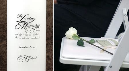 remembering lost loved ones weddings events fashion more