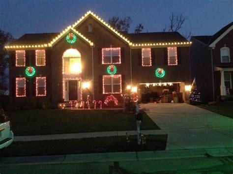 best roads in cincinnati for christmas lights lights displays around cincinnati and northern ky area