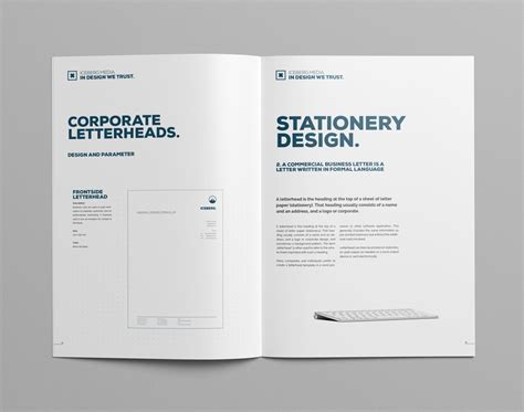manual layout exles elite corporate design manual guide on behance