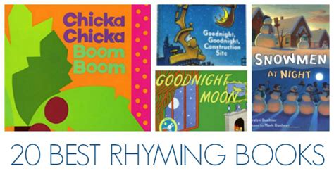best rhyming picture books best rhyming books for preschoolers pre k pages