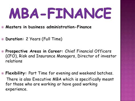 Career Options After Mba In Banking And Finance by Chartered Financial Analyst Vs Mba Finance