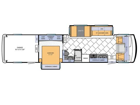 Heartland Travel Trailer Floor Plans by State Of The Art Toy Haulers Gear Recreational Vehicles